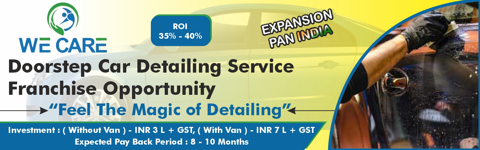 admin/uploads/brand_registration/We Care: Doorstep Car Detailing Service- Franchise Opportunity at Low Cost
